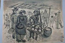 Melonenverkäuferin  -  Monogramm RH (19)64