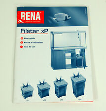 Rena Filstar XP Canister Filter User Guide