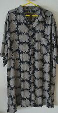 George Foreman Signature Collection 3XT Silk Shirt - Black