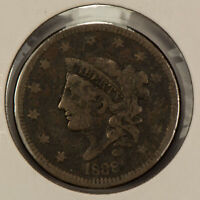 1838 1c Coronet Head Large Cent SKU-Y2585