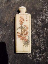 Ancien objet décor Asiatique forme flacon