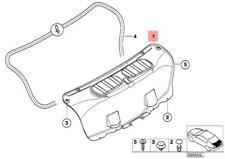 bmw genuine oe e46 m3 csl in interior parts furnishings ebay Stanced E46 M3 genuine bmw trim panel trunk lid m3 e46 m3 csl coupe 51497896451