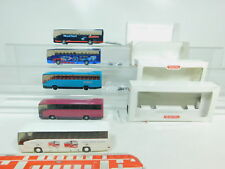 BO769-1 # 5 X Wiking H0 / 1:87 Autocar/Bus Mercedes / MB o 404 : 714+600 Etc.