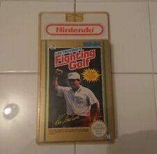 Lee trevino's Fighting Golf Nintendo Nes SNK Sealed French Blister Pal B