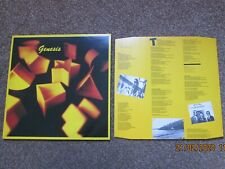"""GENESIS - """"GENESIS"""" - LP - VIRGIN Label - 1983 Pressing"""