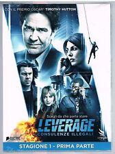 LEVERAGE CONSULENZE ILLEGALI  Vol. 1 (2008) - 2 DVD SIGILLATO!!!