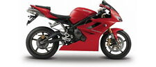 MAISTO 06186 TRIUMPH DAYTONA 675 diecast model sports bike Red / black 1:18th