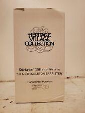 "Dept. 56 Dickens' Village ""Silas Thimbleton Barrister"" Nib #5902-1"