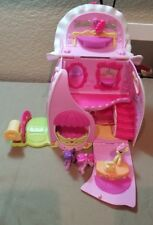 Lot My Little Pony Fancy Fashions Boutique Play house carry to go 3 figures