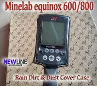 Minelab Control Box Cover  equinox 600/800 Metal Detectors Case Rain Dirt Camo