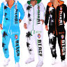 Men's Tracksuit Jogging Pants Jacket Trackies Palms Fitness Miami (R.d.605)