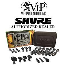 Shure PGADRUMKIT7 7-Piece Drum Microphone Kit PGA52 PGA56 PGA57 PGA181 Drum MIC