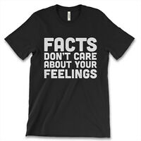 Facts Don't Care About Your Feelings New Men's Shirt Ben Shapiro Premium Graphic
