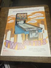 Williams TWIN CITIES Shuffle Alley flyer- good used original