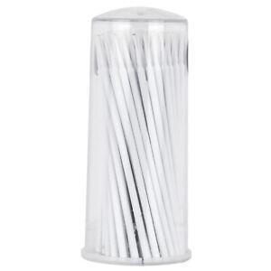 100pcs Micro Brush Swab Applicators Eyelash Extension Mascara Wands Supplies