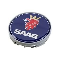 "Genuine Center Hub Cap for Alloy Wheel with Grey Edge ""Griffin"" For SAAB 9-3 9-5"