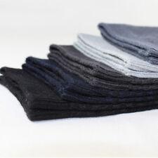 5 Pairs Mens Bamboo Fiber Breatheable Socks Anti-Bacterial Deodorant Soft Socks
