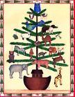NOAH'S ARK CASPARI ANIMAL TREE CHRISTMAS CARD LION LAMB ZEBRA TURTLE DOG & MORE