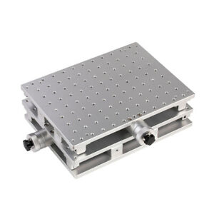 2D Laser Marking Machine Workbench  2 Axis Moving Table Portable Cabinet Case