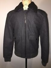 NEW Express Men's Jacket Charcoal Gray Size XS Wool Blend Winter $298 MSRP 1/1-7