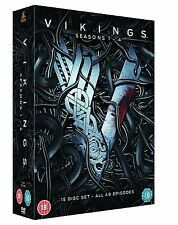 Vikings the Complete Series Seasons 1, 2, 3 & 4 DVD Box Set R4