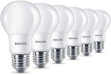 Philips LED Lampe 8w ersetzt 60w E27 Warmweiß 806 Lumen matt 6er Pack