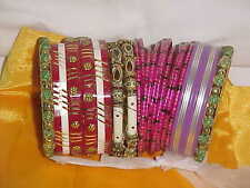 BUNCH Of SUPERB RARE Bangles FOR Sari Dress SALWAR KAMEEZ Ballroom DANCE JEWELRY