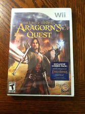 Lord of the Rings: Aragorn's Quest  (Nintendo Wii, 2010)