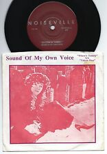 """SOUND OF MY OWN VOICE Where's Tommy / Valerie dear USA 7"""" w/PS NOISEVILLE (1990)"""