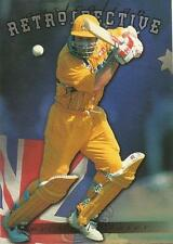 FUTERA 1996 WORLD CUP CRICKET MICHAEL SLATER Retrospective AR5 #0995 of 1000