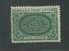 CANADA # E-1 Mint SPECIAL DELIVERY WITHIN CITY LIMITS (0140)