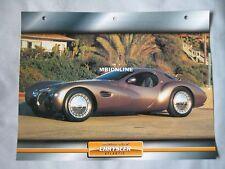 Chrysler Atlantic Dream Cars Card
