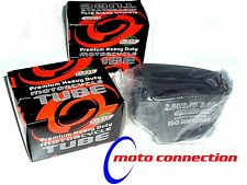 "YAMAHA YZF250 YZ250F  FRONT +  REAR INNER TUBES 19"" + 21"" MOTOCROSS    GBC"