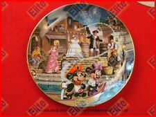 "Disneylands 40th Anniversary ""Pirates of the Caribbean"" Collector Plate-Nib"