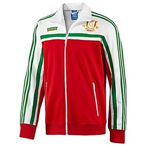 Adidas Original MEXICO firebird Track Top sweat shirt Jacket superstar~Men sz XL