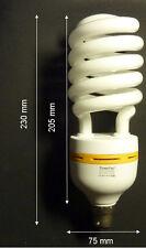 1x Powerpac Energy Saving Light globes CFL 45w B22 Daylight bundle 25w Bayonet