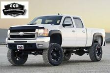 EGR Matte Black Fender Flare Bolt On Style 2007-2013 Chevrolet Silverado 791405