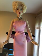 Franklin Mint Marilyn Monroe vinyl doll With Swarovski Crystals