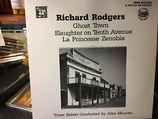 LP  RICHARD ROGERS  Ghost TOWN , Slaughter on 10th Avre & La Princess Zenobia