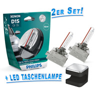 Philips D1S X-treme Vision gen2 +150% Xenon Brenner + Cuby LED Taschenlampe!!!