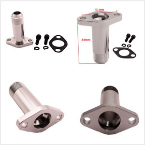 Aluminum Alloy Car Vehicle Extended AN12 Turbo Drain Fitting Precision For T3/T4