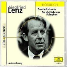 SIEGFRIED LENZ - DEUTSCHSTUNDE & SO ZÄRTLICH WAR SULEYKEN  CD NEU