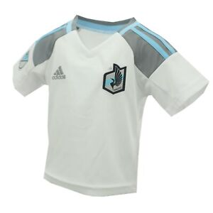 Minnesota United FC Official MLS Adidas Infant Baby Size Athletic Jersey New Tag
