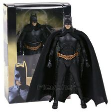"BATMAN BEGINS/ FIGURA CHRISTIAN BALE 18 CM- ACTION FIGURE NECA 7"" WITH BOX"