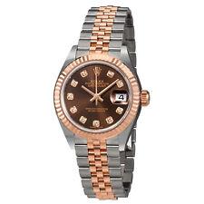 Rolex Lady Datejust Chocolate Diamond Dial Automatic Ladies Watch 279171CHDJ