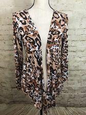 NEW Liz Lange Leopard Tiger Cheetah Print Cover Up D3786