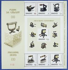 Rumanía Romania 2012 Hist. plancha pressing Irons bloque 539 mnh tirada 500