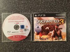 Uncharted 3 Drake's Deception PS3 Promo Disco-Raro