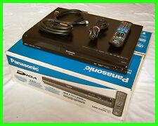 Panasonic dmr-eh585 DVD/HDD RECORDER * 250 GB = 440 ore * Full-HDMI/USB/EPG/SD