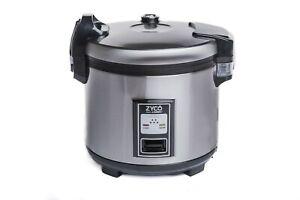 5.4 Litre Commercial Rice Cooker Warmer for Restaurant Take Away Pub Hotel